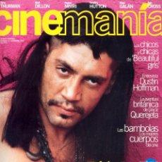 Coleccionismo de Revistas y Periódicos: REVISTA CINEMANIA Nº 14 NOVIEMBRE 1996, JAVIER BARDEM. Lote 54147658