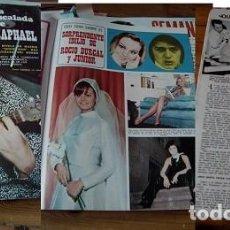 Coleccionismo de Revistas y Periódicos: REVISTA SEMANA 1969 ROCÍO DÚRCAL RAPHAEL. Lote 90727780