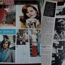 Coleccionismo de Revistas y Periódicos: REVISTA SEMANA 1973 ROCÍO DÚRCAL. Lote 90730315