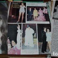 Coleccionismo de Revistas y Periódicos: REVISTA SEMANA 1970 ROCÍO DÚRCAL. Lote 90730480