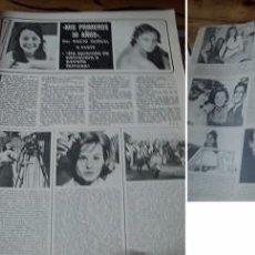 Coleccionismo de Revistas y Periódicos: REVISTA SEMANA 1974 ROCÍO DÚRCAL. Lote 90730735