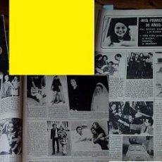 Coleccionismo de Revistas y Periódicos: REVISTA SEMANA 1974 ROCÍO DÚRCAL, MARISOL. Lote 90730805