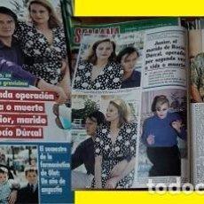 Coleccionismo de Revistas y Periódicos: REVISTA SEMANA 1993 ROCÍO DÚRCAL JUNIOR. Lote 90731285