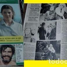 Coleccionismo de Revistas y Periódicos: REVISTA SEMANA 1977 ROCÍO DURCAL BARBARA REY. Lote 90731330