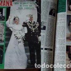 Coleccionismo de Revistas y Periódicos: REVISTA SEMANA 1976 ROCÍO DÚRCAL. Lote 90731415
