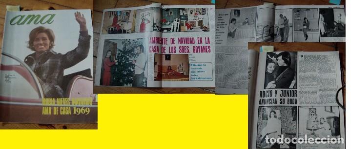 REVISTA AMA 1970 ROCÍO DÚRCAL MARISOL (Coleccionismo - Revistas y Periódicos Modernos (a partir de 1.940) - Otros)