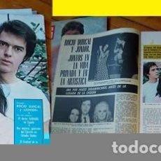 Coleccionismo de Revistas y Periódicos: REVISTA ONDAS 1970 ROCÍO DÚRCAL Y JUNIOR. Lote 90761840