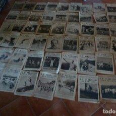 Coleccionismo de Revistas y Periódicos: 60 NUMEROS DIARIO FRANCES LE MIROIR DES SPORTS, TODOS DEL AÑO 1924. Lote 90802205