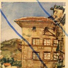 Coleccionismo de Revistas y Periódicos: PASAJES DE SAN JUAN -CASA DE VICTOR HUGO 1934 SAN SEBASTIAN ILUSTRACION HOJA REVISTA. Lote 90850715