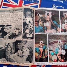 Coleccionismo de Revistas y Periódicos: CARMEN SEVILLA EL MORRONGO UNA MUJER DE CABARET. Lote 195148266