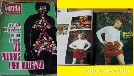 REVISTA GACETA ILUSTRADA 1968 ROCÍO DÚRCAL (Coleccionismo - Revistas y Periódicos Modernos (a partir de 1.940) - Otros)