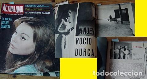 REVISTA ACTUALIDAD ESPAÑOLA 1964 ROCÍO DÚRCAL (Coleccionismo - Revistas y Periódicos Modernos (a partir de 1.940) - Otros)