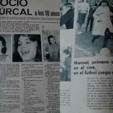 Coleccionismo de Revistas y Periódicos: REVISTA FOTOGRAMAS 1963 ROCÍO DÚRCAL MARISOL. Lote 90854820