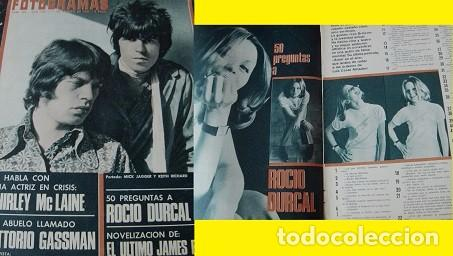 REVISTA FOTOGRAMAS 1967 ROCÍO DÚRCAL (Coleccionismo - Revistas y Periódicos Modernos (a partir de 1.940) - Otros)