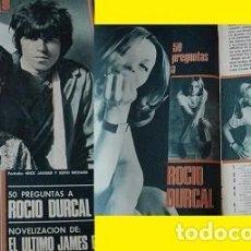 Coleccionismo de Revistas y Periódicos: REVISTA FOTOGRAMAS 1967 ROCÍO DÚRCAL . Lote 90854880