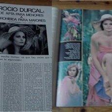 Coleccionismo de Revistas y Periódicos: REVISTA FOTOGRAMAS 1974 ROCÍO DÚRCAL. Lote 90855005