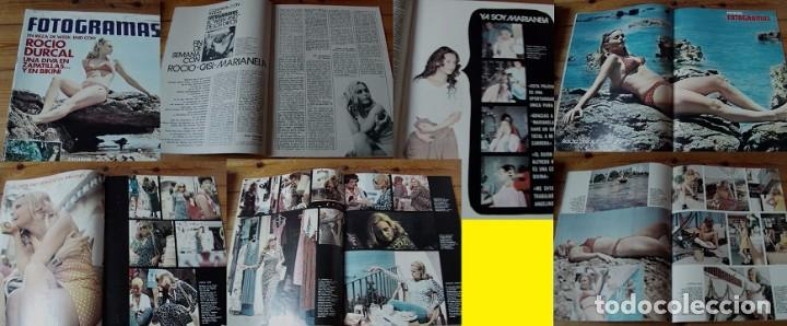 REVISTA FOTOGRAMAS 1972 ROCÍO DÚRCAL (Coleccionismo - Revistas y Periódicos Modernos (a partir de 1.940) - Otros)