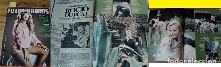 REVISTA FOTOGRAMAS 1973 ROCÍO DÚRCAL (Coleccionismo - Revistas y Periódicos Modernos (a partir de 1.940) - Otros)