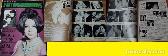 REVISTA FOTOGRAMAS 1970 ROCÍO DÚRCAL SARA MONTIEL (Coleccionismo - Revistas y Periódicos Modernos (a partir de 1.940) - Otros)