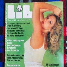 Coleccionismo de Revistas y Periódicos: REVISTA - LIB - Nº 60 - DICIEMBRE 1977. Lote 90883175