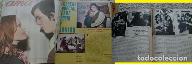 REVISTA AMA 1970 ROCÍO DÚRCAL JUNIOR (Coleccionismo - Revistas y Periódicos Modernos (a partir de 1.940) - Otros)