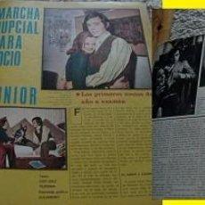 Coleccionismo de Revistas y Periódicos: REVISTA AMA 1970 ROCÍO DÚRCAL JUNIOR. Lote 90884055