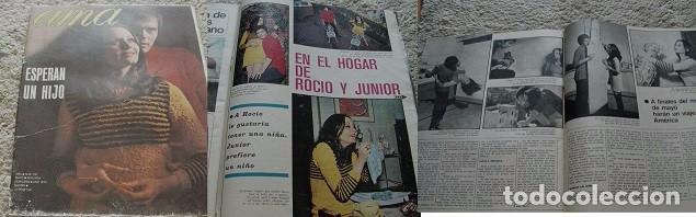 REVISTA AMA 1970 ROCÍO DÚRCAL (Coleccionismo - Revistas y Periódicos Modernos (a partir de 1.940) - Otros)