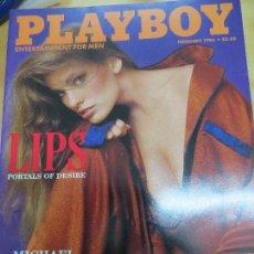 Coleccionismo de Revistas y Periódicos: REVISTA PLAYBOY FEBRERO 1986. Lote 91082650