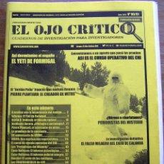 Coleccionismo de Revistas y Periódicos: REVISTA EL OJO CRITICO. Nº 80-81. FRAUDES, MISTERIOS VIRALES, YETI FORMIGAL, OVNIS, PARAPSICOLOGIA. Lote 91219489