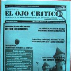 Coleccionismo de Revistas y Periódicos: REVISTA EL OJO CRÍTICO. Nº 79. UMMO, OVNIS, PARAPSICOLOGIA, FRAUDES PARANORMAL, SECTAS, UFO . Lote 91797120