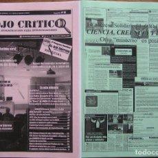Coleccionismo de Revistas y Periódicos: REVISTA EL OJO CRITICO, Nº 75. INCLUYE DOSSIER LAS MEJORE INVESTIGACIONES. OVNI, PARAPSICOLOGIA, UFO. Lote 91529977