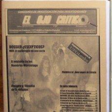 Coleccionismo de Revistas y Periódicos: REVISTA EL OJO CRÍTICO, Nº 69. ESPECIAL PSEUDOESCEPTICOS.OVNI,PARAPSICOLOGIA,PARANORMAL,SECTAS,UFO. Lote 91173125
