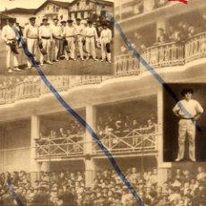 Coleccionismo de Revistas y Periódicos: PELOTA VASCA 1934 SAN SEBASTIAN HOJA REVISTA. Lote 91438525