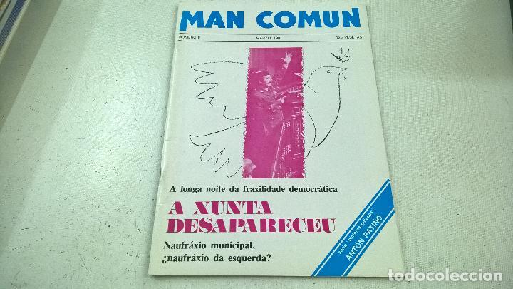 REVISTA-MAN COMUN-NUMERO 8-MARZAL 1981-N. (Coleccionismo - Revistas y Periódicos Modernos (a partir de 1.940) - Otros)