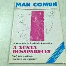 Coleccionismo de Revistas y Periódicos: REVISTA-MAN COMUN-NUMERO 8-MARZAL 1981-N.. Lote 91443835