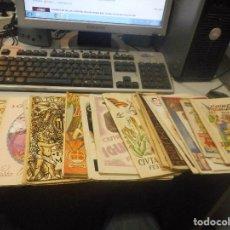Coleccionismo de Revistas y Periódicos: COLECCION LOTE PROGRAMAS FIESTA MAYOR IGUALADA DE 1925 HASTA 1949 PEDAZO HISTORIA. Lote 91607800