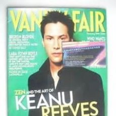 Coleccionismo de Revistas y Periódicos: VANITY FAIR MAGAZINE. Nº486 FEBRUARY 2001. KEANU REEVES. INTERNATIONAL EDITION.. Lote 91610775