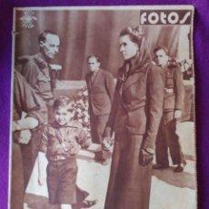 Collezionismo di Riviste e Giornali: FOTOS. SEMANARIO GRÁFICO NACIONALSINDICALISTA. Nº 121. Lote 91646645