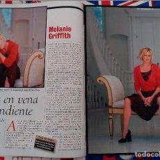Coleccionismo de Revistas y Periódicos: MELANIE GRIFFITH. Lote 91677800
