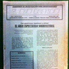 Coleccionismo de Revistas y Periódicos: REVISTA EL OJO CRÍTICO Nº35.VAMPIROS.PARPASICOLOGIA.OVNIS.SECTAS.TRANSCOMUNICACION.PSICOFONIAS.UFO. Lote 91797415