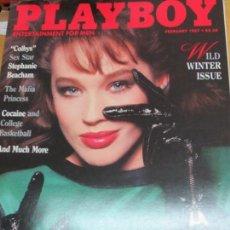 Coleccionismo de Revistas y Periódicos: REVISTA PLAYBOY FEBRERO 1987. Lote 91808070