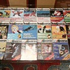 Coleccionismo de Revistas y Periódicos: COLECCIÓN REVISTAS TODOSPECTRUM (7-12). SPECTRUM, AMSTRAD, MSX, COMMODORE. VIDEOJUEGOS. Lote 91858940