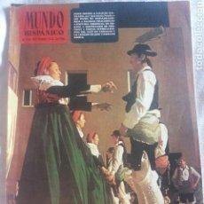 Coleccionismo de Revistas y Periódicos: REVISTA MUNDO HISPANICO N.318 ( 1974 ). Lote 91940594
