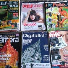 Coleccionismo de Revistas y Periódicos: COLECCION DE 26 REVISTAS VARIADAS DE FOTOGRAFIA. Lote 92018500