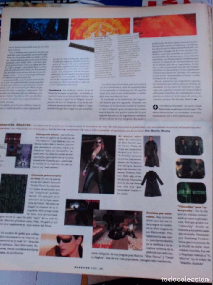 Coleccionismo de Revistas y Periódicos: MATRIX KEANU REEVES - Foto 2 - 92078735