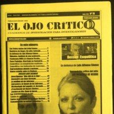 Coleccionismo de Revistas y Periódicos: REVISTA EL OJO CRÍTICO Nº 78.ESPECIAL ANNE GERMAIN.OVNIS,DOSSIER EXOPOLÍTICA.PARAPSICOLOGIA.SECTAS.. Lote 92146415