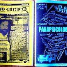 Coleccionismo de Revistas y Periódicos: REVISTA EL OJO CRÍTICO Nº83-84.NUMERO DOBLE.ESPECIAL PARAPSICOLOGÍA CIENTÍFICA. JACOBO GRINBERG.OVNI. Lote 110227223