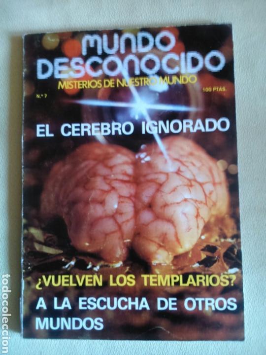 MUNDO DESCONOCIDO- REVISTA 7. (Coleccionismo - Revistas y Periódicos Modernos (a partir de 1.940) - Otros)