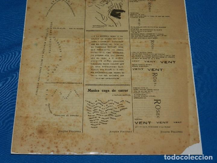 Coleccionismo de Revistas y Periódicos: (M) REVISTA UN ENEMIC DEL POBLE NUM 16 MARÇ 1919, BARRADAS , JOAQUIM FOLGUERA , J SALVAT PAPASSEIT - Foto 2 - 92410425