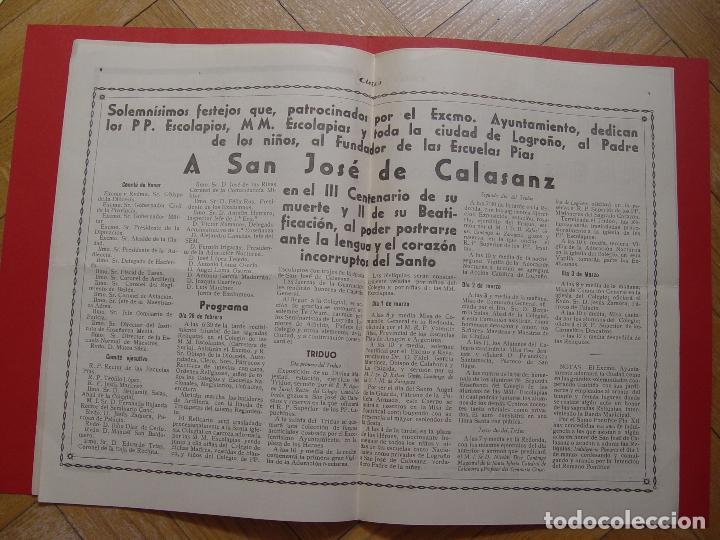 Coleccionismo de Revistas y Periódicos: Periódico ACIES (Logroño, 27-II-1949) ¡Ejemplar histórico! Coleccionista - Foto 4 - 92740095